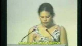 Rio Earth Summit (1992) - Seven Suzuki´s speech width=