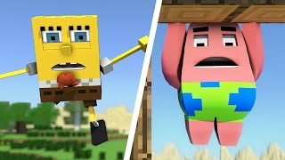getlinkyoutube.com-Bob Esponja en Minecraft Pelicula Completa Español Latino NICOBOY98