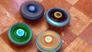 getlinkyoutube.com-Beyblade 4D Wooden Battle Royale Battle Series 3