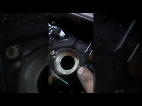 Замена сальников свечных колодцев Двигатель 1MZ-FE Toyota Lexus ES300