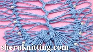 getlinkyoutube.com-How to Join Hairpin Lace Strip Tutorial 18 Part 4 of 4 U Shape Joining