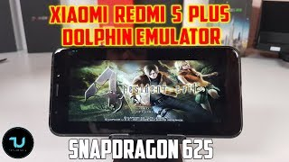 Xiaomi Redmi 5 Plus Dolphin Gamecube Emulator Snapdragon 625 Adreno 506/Gamepad/Games+Settings