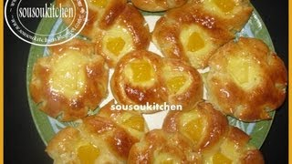 getlinkyoutube.com-Brioches à la crème patissière/Brioche with Custard-Sousoukitchen