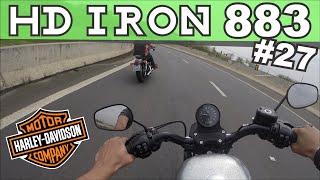 getlinkyoutube.com-Test Ride Harley-Davidson Iron 883