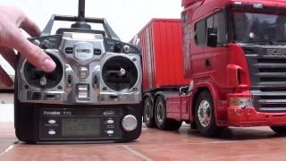 getlinkyoutube.com-Servonaut with Scania R620 Highline 6x4 (Tamiya)