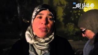 getlinkyoutube.com-إعتصام ليلي  بعمالة خريبكة