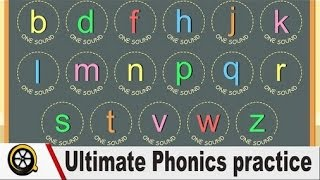 Reading English - Ultimate Phonics practice