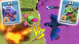 getlinkyoutube.com-WHO IS STRONGER!?!🔸DRAGON WARS EVENT!!🔸Clash Of Clans