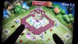 getlinkyoutube.com-HBM Wave T - the Giant Molts defeated!! (Castle Clash)
