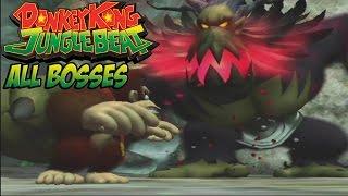 getlinkyoutube.com-Donkey Kong Jungle Beat - All Bosses