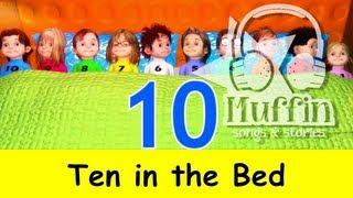 getlinkyoutube.com-Ten in the Bed (Ten in a Bed) | Family Sing Along - Muffin Songs