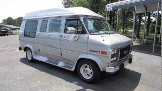 getlinkyoutube.com-1994 GMC Vandura G2500 Conversion Van Start Up, Engine, and In Depth Tour