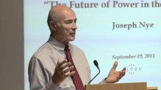 getlinkyoutube.com-Joseph Nye on global power in the 21st century, the full lecture at Central European University