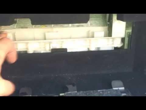 Как правильно поменять фильтр салона на Lexus LS460