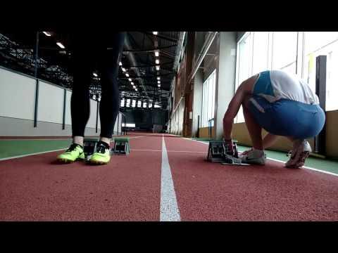 Sprint 30m Block starts - live training