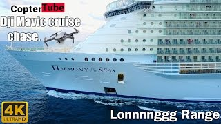 getlinkyoutube.com-4K Dji Mavic 🚢🚁11 12 2016 LIVE STREAM  1st Cruise chase  Harmony of the seas