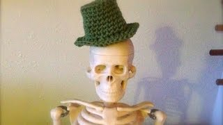 getlinkyoutube.com-Hoe To Crochet a Miniature Top Hat