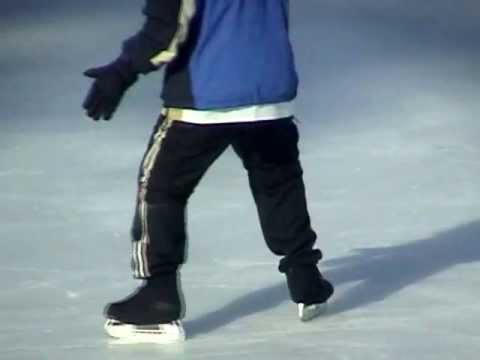 Xtreme Ice Skating - Eagle Turn (element) -  tutorial