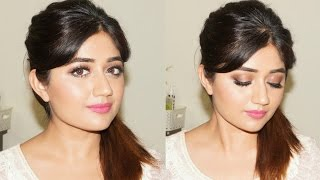 getlinkyoutube.com-Glamorous Natural Makeup Tutorial for Indian Skin | corallista