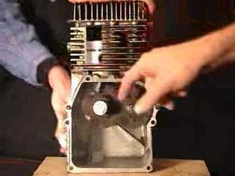 4-stroke internal combustion (IC) engine demonstration