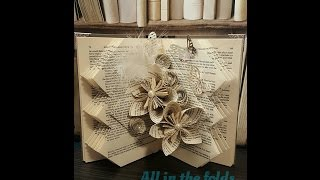 getlinkyoutube.com-How to make 'That Thursday fold' Book art pattern by All in the folds