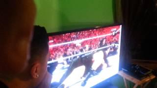 Wrestlemania 31 ending live reaction!