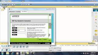 configuring wireless network in packet tracer