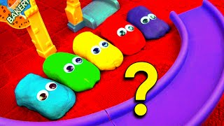 getlinkyoutube.com-Play Doh Cars Guessing Game! Guess Who's Hiding! Disney Cars Hide n Seek Toy Learning Game FluffyJet