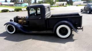 getlinkyoutube.com-1934 Ford Pickup Golden Rocket J2