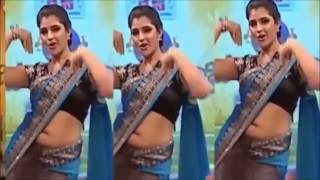 Hot Anchor Shyamala  Dance Performance at Stage Show