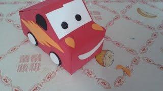 getlinkyoutube.com-Carro McQueen de Caixa de Leite