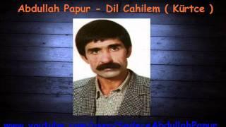 Abdullah Papur – Dil Cahilem –  Kürtce  mp3 dinle