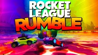 getlinkyoutube.com-CRAZY MODDED Rocket League RUMBLE with TWO BALLS!