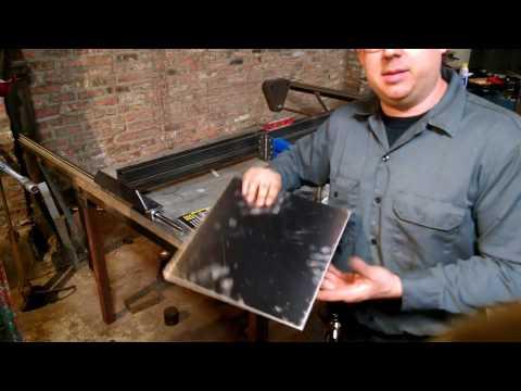 Shop Built Plasma pantograph