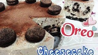 getlinkyoutube.com-How To Make No Bake Oreo Cheesecake 奥利奥芝士蛋糕