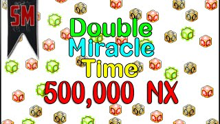 getlinkyoutube.com-MapleStory: Miracle Time Cubing with 500,000 NX!!!
