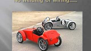getlinkyoutube.com-Cars for Kids!  Build this Amazing Kids Car from A Swing Bin