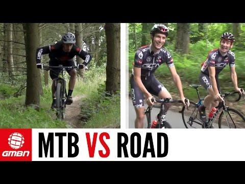 Is Mountain Biking Harder Than Road Cycling? GMBN Vs. GCN