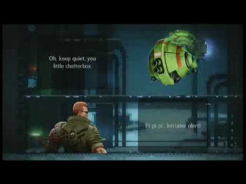 Classic Game Room HD - BIONIC COMMANDO REARMED review Pt1