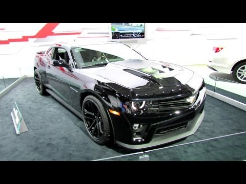 2013 Chevrolet Camaro ZL1 Exterior at 2012 New York International Auto Show