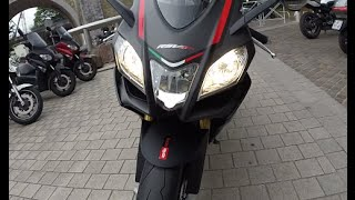 getlinkyoutube.com-New Aprillia RSV4 RR 2015 Exhaust 109dB !!
