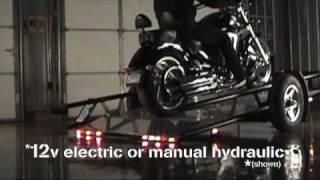 getlinkyoutube.com-Kneeling Motorcycle Trailer
