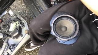 getlinkyoutube.com-Tutorial pour installer des haut parleurs type enceintes Focal sur une voiture Seat Ibiza 5 - part1
