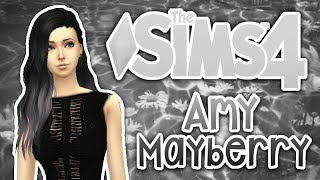getlinkyoutube.com-☠ The Sims 4 - Amy Mayberry - (Create-A-Sim) ☠