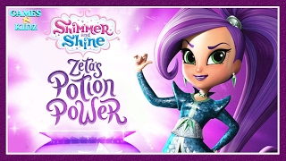 Shimmer & Shine: Zeta's Potion Power - Learn Colors -  Nick Jr App For Kids