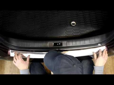 Наклейка на задний бампер для Nissan Teana