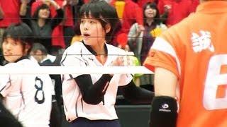 Volleyball 誠英 × 盛岡女 1S 春高バレー2013-107