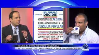Entrevista Gustavo Galea Consulta Popular Venezuela