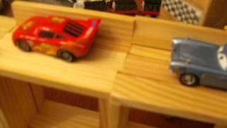 getlinkyoutube.com-Lightning McQueen Trouble at the Bridge Video