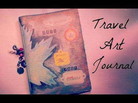 DIY Travel Art Journal